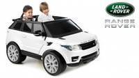 Детский электромобиль Feber Range Rover Sport, цвет белый