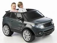 Детский электромобиль Feber Range Rover Sport, цвет черный