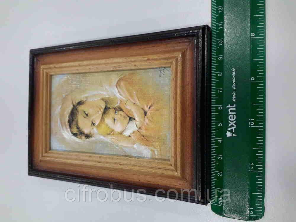 Б/У Икона Дева Мария 35x31
