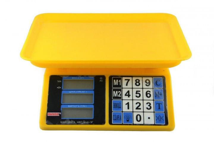 Весы торговые MATRIX MX-412 до 50 кг