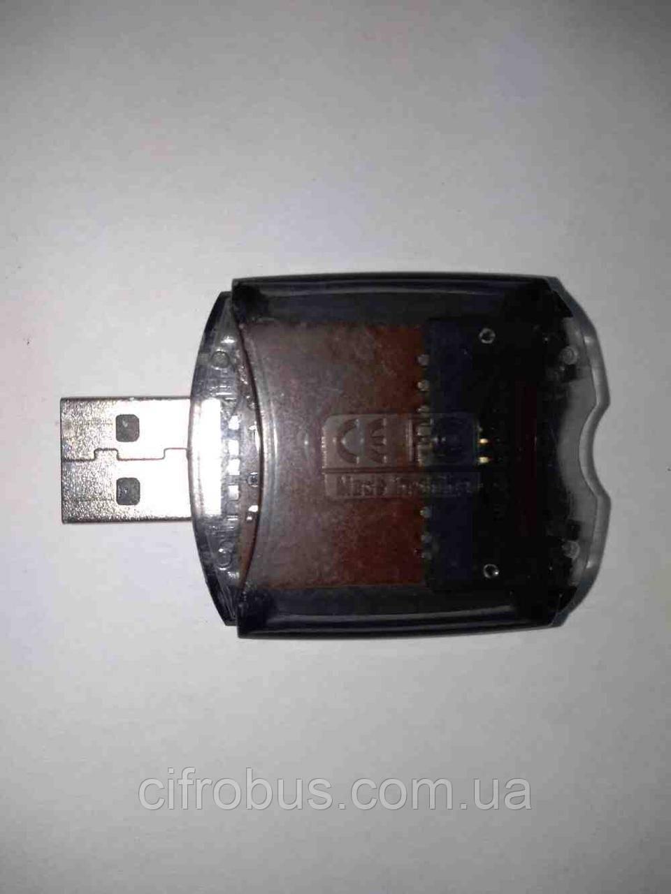 Б/У Card Reader usb MicroSD