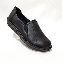 38 р. Жіночі туфлі м'які зі свинячої шкіри маломірки відмінної якості Остання пара