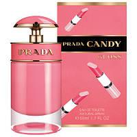 Женская туалетная вода, оригинал Prada Candy Gloss