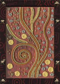 """Набор для вышивания нитками и бисером (креативное рукоделие) """"Звездный ветер"""""""