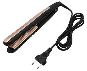 Утюжок для волос гофре Gemei GM-2955 с керамическим покрытием