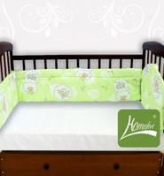 Защитный бортик для детской кроватки Homefort, расцветки в ассортименте