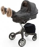 Зимний комплект на коляску Stokke Xplory, цвет Black Melange