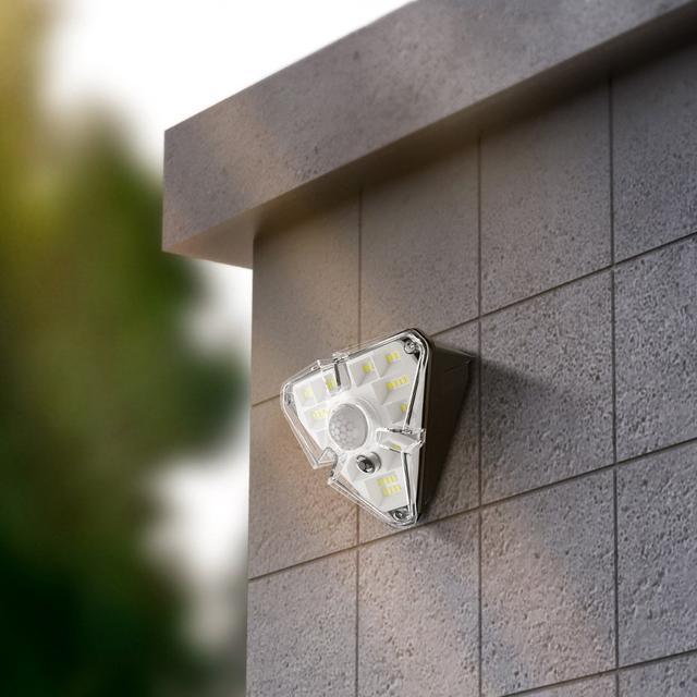 Уличная аккумуляторная LED лампа на солнечной батарее с датчиком движения Baseus Solar Energy Lamp (DGNEN-A01)