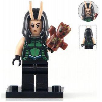 Мантис Mantis Супергерой Марвел Мстители Стражи галактики Аналог лего
