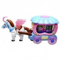 """Игровой набор """"Пони с каретой"""" HD938"""