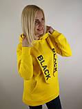Жовта флісова толстовка, фото 2