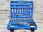 Набір ключів і інструментів з 108 предметів. Набір інструментів Euro Craft (набір інструментів), фото 7