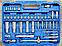 Набір ключів і інструментів з 108 предметів. Набір інструментів Euro Craft (набір інструментів), фото 9