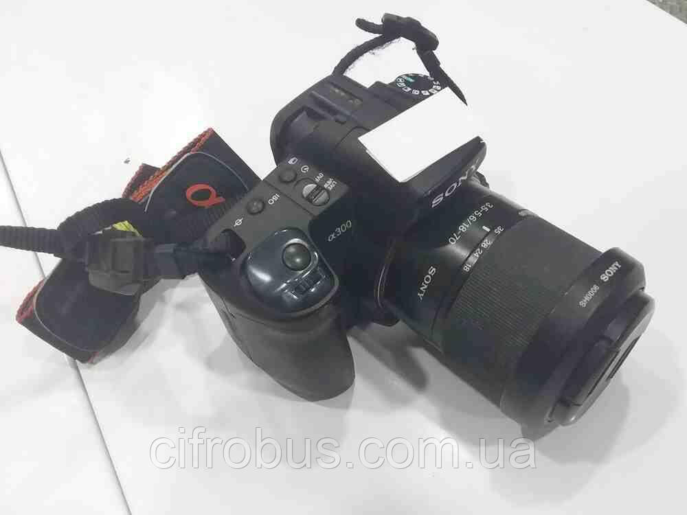Б/У Sony Alpha DSLR-A300 Kit