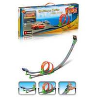 Игровой набор Bburago - ТРЕК СКОРОСТНАЯ ПЕТЛЯ (2 дорожки + 2 машинки)