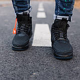 Кроссовки мужские Nike Lunar Force 1 Duckboot 17 black (Реплика ААА), фото 2