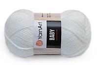 YarnArt Baby Білий №501