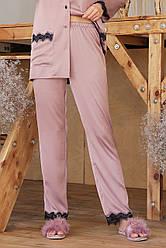 Шовкові жіночі штани для будинку Долорес