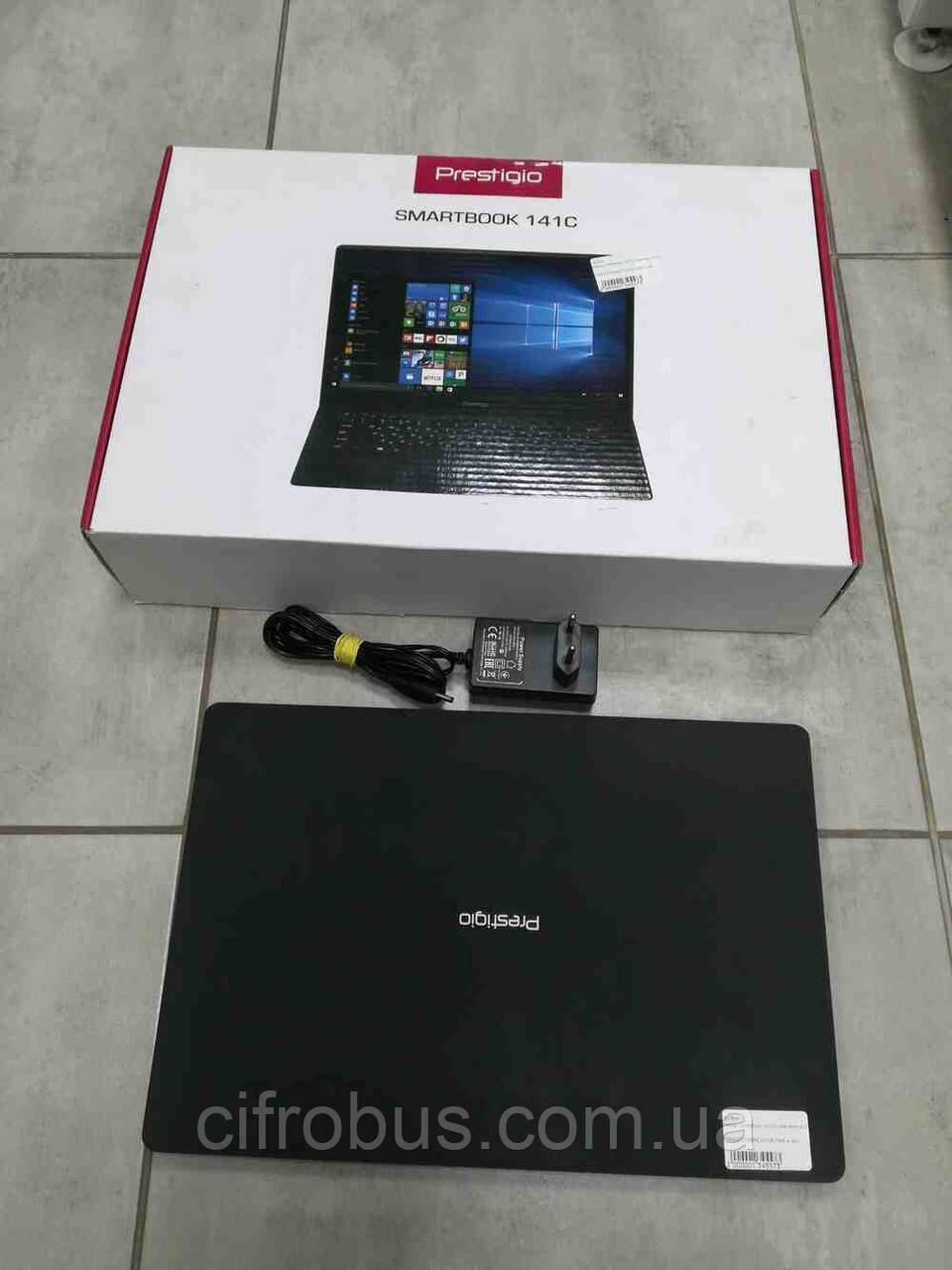 Prestigio SmartBook 141C (Atom x5 Z8350 1.44GHz/14.1/1920x1080/RAM 2Gb/32GB eMMC/DVD нет)