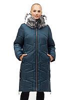 Стильная зимняя куртка с мехом, фото 1
