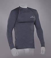Мужская футболка Tramp TRUM-005T-grey-S Outdoor Tracking Man с длинным рукавом Gray