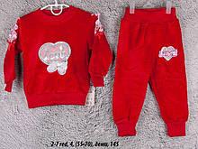Детский спортивный костюм 2-7 red