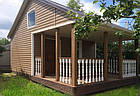 Блок хаус панель BLOCK HOUSE КАРЕЛІЯ ГОРІХ однопереломний, фото 2