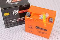 Аккумулятор 5Аh гелевый, оранж 112/70/105мм фирма Mototech
