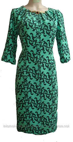 Женкое платье гепюр батал