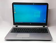 """Ноутбук HP ProBook 455 G3 15.6"""" AMD A8-7410 2,2 GHz 8 GB RAM 128 GB SSD Black-Silver Б/У, фото 1"""
