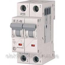 Автоматический выключатель Eaton (Moeller) HL 2P 10А C 4,5кА