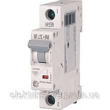 Автоматический выключатель Eaton (Moeller) HL 1P 6А C 4,5кА