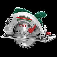 Пила ручная циркулярная DWT HKS12-59, 1250 Вт, 6000 об/мин, диск 190 мм, глубина пропила 59 мм