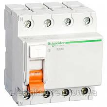 Диференціальне реле Schneider-Electric Домовик ВД63 4P 40A 100МА
