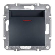 Выключатель карточный Schneider-Electric Asfora Plus Антрацит