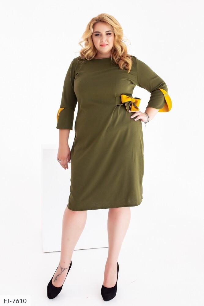 Стильное платье    (размеры 48-62) 0255-19