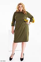 Стильное платье    (размеры 48-62) 0255-19, фото 1