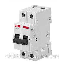 Автоматичний вимикач ABB BMS412C63 63А C 2P
