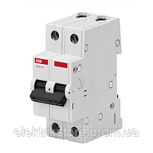 Автоматичний вимикач ABB BMS412C32 32А C 2P