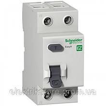 Диференціальне реле Schneider-Electric Easy9 2P 25A 10мА