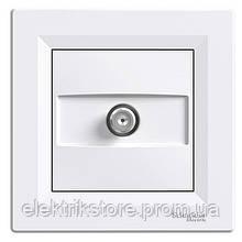 Розетка SAT концевая (1 дБ) Schneider-Electric Asfora Белый