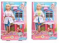 Кукла BLD 129 Доктор на листе