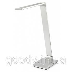 Настільна лампа світлодіодна Tiross TS-1810 (срібло)