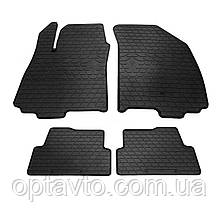 CHEVROLET Aveo (T300)  - комплект качественных резиновых ковриков. Комплект 4 шт. (2011-...)