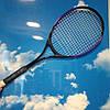 Ракетка для великого тенісу, недорога тенісна ракетка 70 см, фото 4