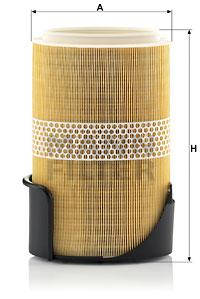 Bosch фільтр повітряний porsche cayman 2,7-3,4 -13