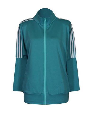 Женская спортивная кофта с полосками