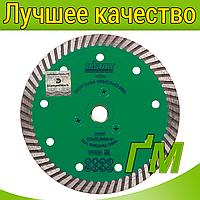 Алмазный диск для УШМ Elite 125x2,2x10x22,23/M14F Turbo, фото 1