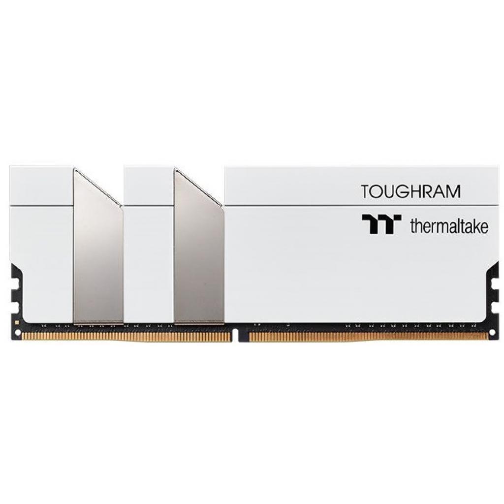 Модуль памяти для компьютера DDR4 16GB (2x8GB) 4000 MHz Toughram White ThermalTake (R020D408GX2-4000