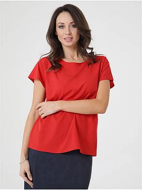 Жіноча блуза без рукавів вільного крою, фото 2